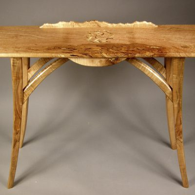 Mixed Maple Hall Table